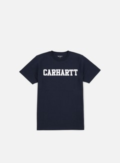 Carhartt - College T-shirt, Navy/White 1