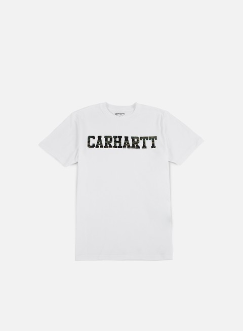 t shirt carhartt college t shirt white camo tiger