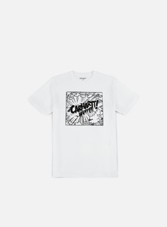 Carhartt - Comic T-shirt, White/Black 1