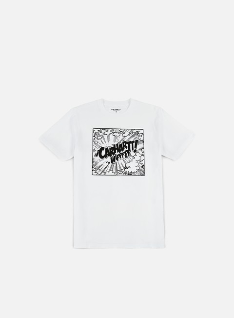 t shirt carhartt comic t shirt white black