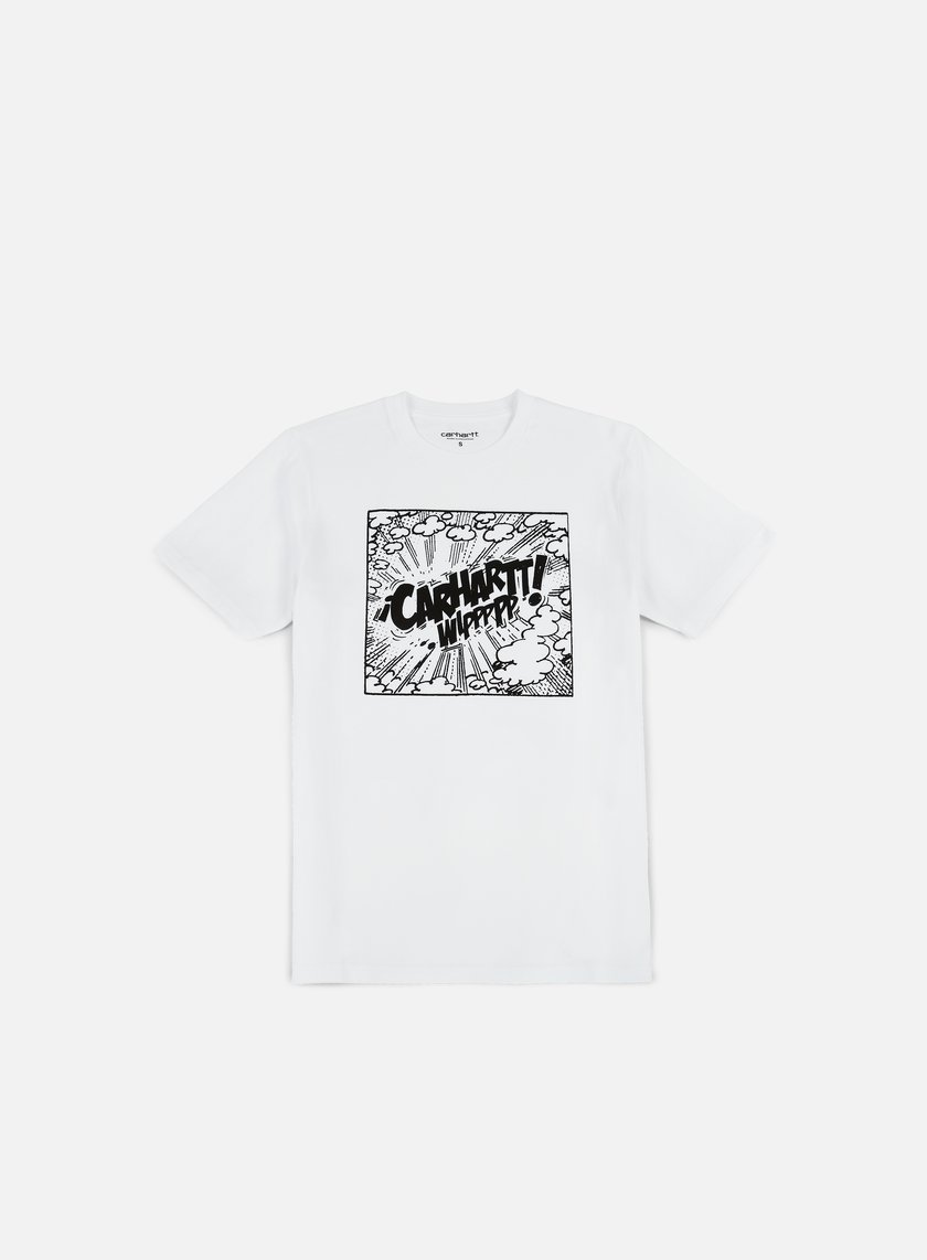 Carhartt - Comic T-shirt, White/Black