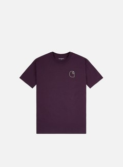 Carhartt - Commission Logo T-shirt, Boysenberry