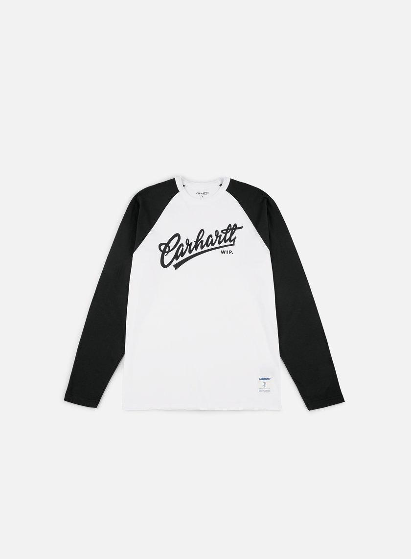 Carhartt T-Shirt Logo Manica Lunga