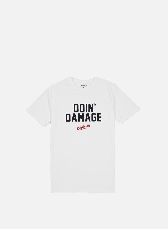 Carhartt - Doin Damage T-shirt, White