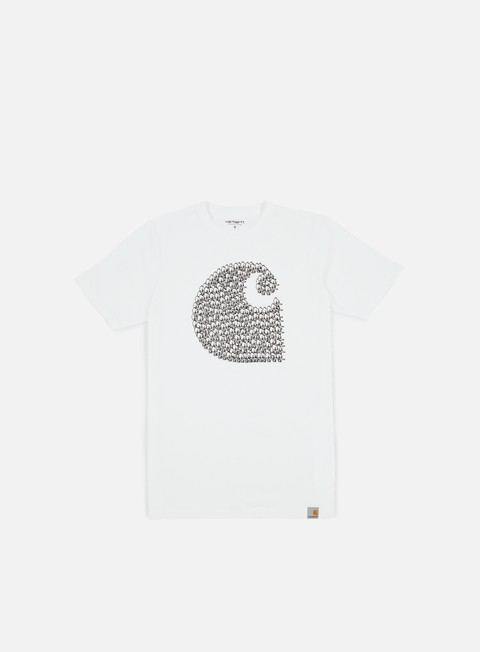 t shirt carhartt duck swarm t shirt white