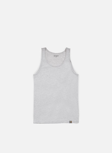 t shirt carhartt exec tank top ash heather