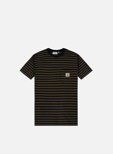 Short Sleeve T-shirts Carhartt Haldon Pocket T-shirt