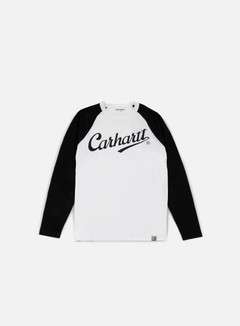 Carhartt - League LS T-shirt, White/Black 1