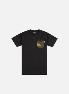 Carhartt - Lester Pocket T-shirt, Black/Camo Laurel