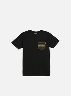 Carhartt - Lester Pocket T-shirt, Black/Green Ethnic Print 1