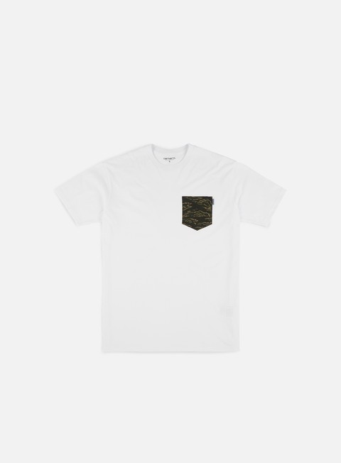 t shirt carhartt lester pocket t shirt white camo tiger laurel