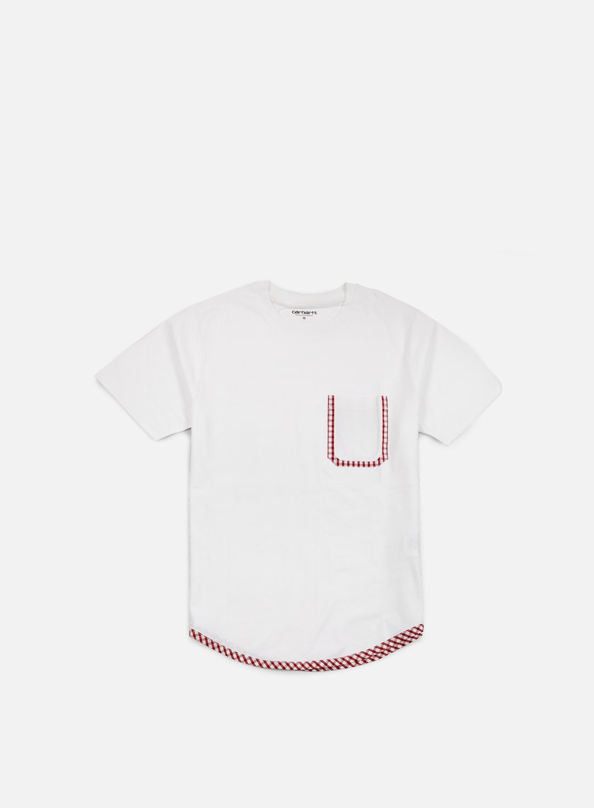 Carhartt - Lewis Pocket T-shirt, White/Kenneth Check Alabama