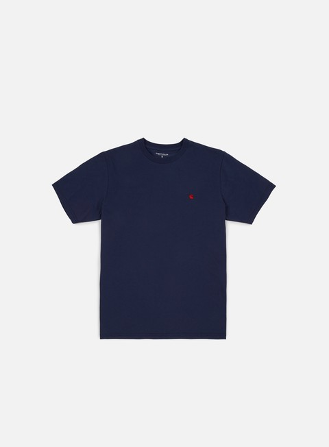t shirt carhartt madison t shirt blue blast red