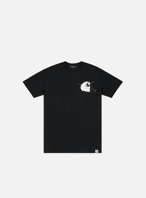 t shirt carhartt mirror t shirt black white
