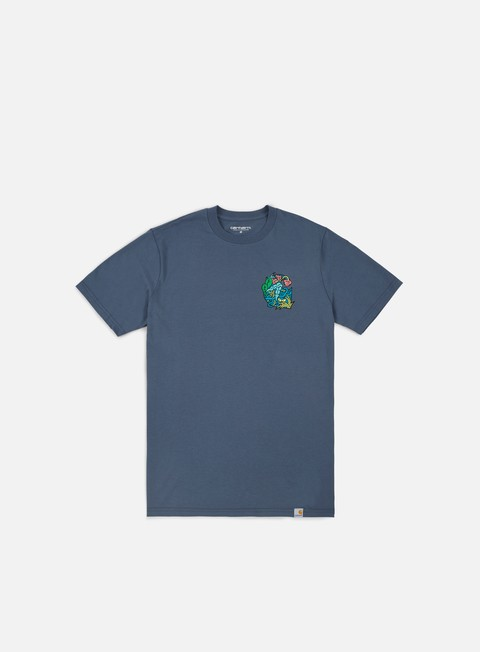 t shirt carhartt my jungle t shirt stone blue