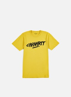 Carhartt - Painted Script T-shirt, Quince/Black 1