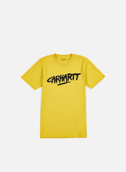 t shirt carhartt painted script t shirt quince black