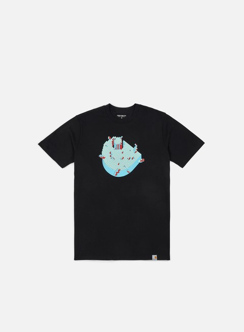 Outlet e Saldi T-shirt a Manica Corta Carhartt Pixel T-shirt