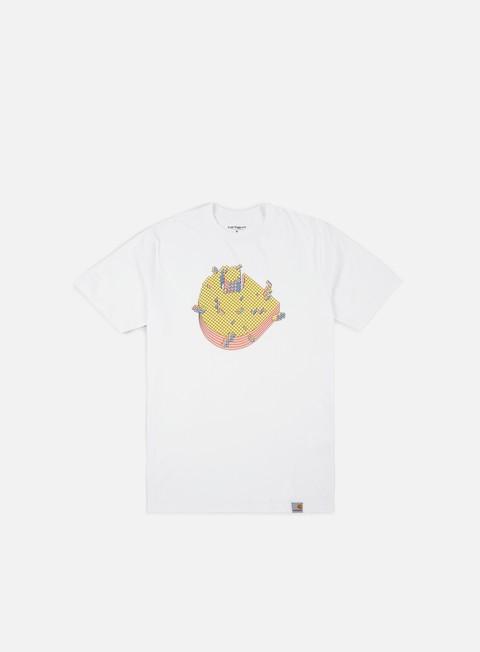 t shirt carhartt pixel t shirt white