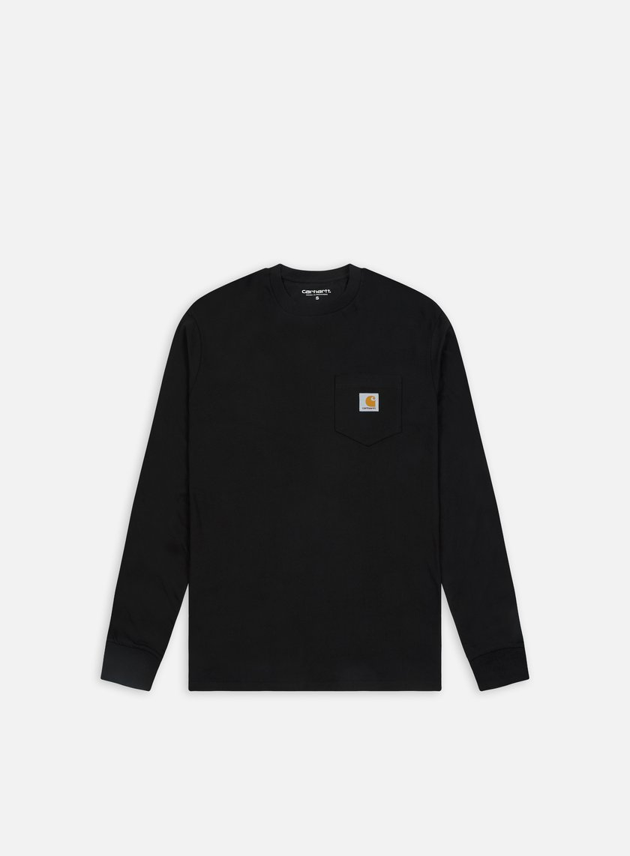 Carhartt - Pocket LS T-shirt, Black