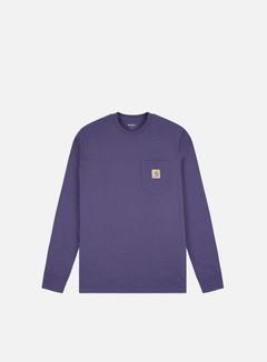 Carhartt - Pocket LS T-shirt, Cold Viola