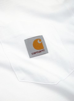 Carhartt - Pocket LS T-shirt, White 2