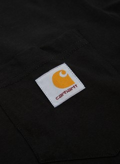 Carhartt - Pocket T-shirt, Black 2