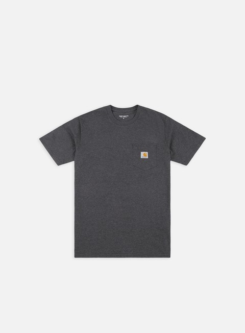 t shirt carhartt pocket t shirt black heather