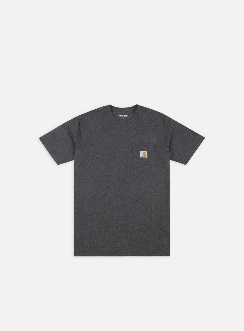 Carhartt - Pocket T-shirt, Black Heather