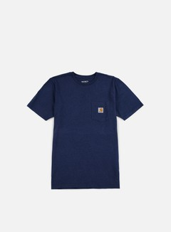 Carhartt - Pocket T-shirt, Blue Heather
