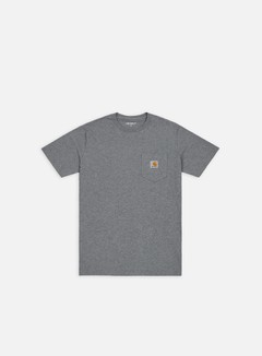 Carhartt - Pocket T-shirt, Dark Grey Heather