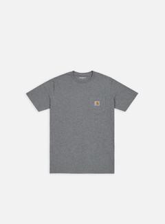 Carhartt - Pocket T-shirt, Dark Grey Heather