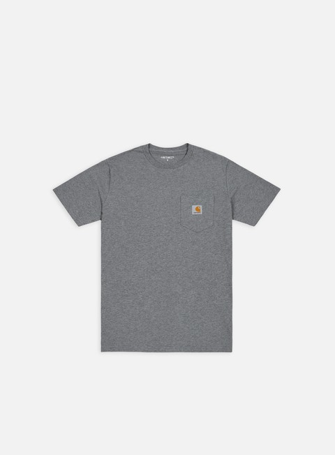 t shirt carhartt pocket t shirt dark grey heather