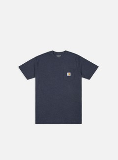 Carhartt - Pocket T-shirt, Dark Navy Heather