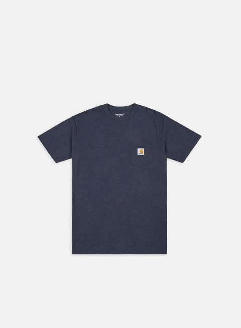 t shirt carhartt pocket t shirt dark navy heather