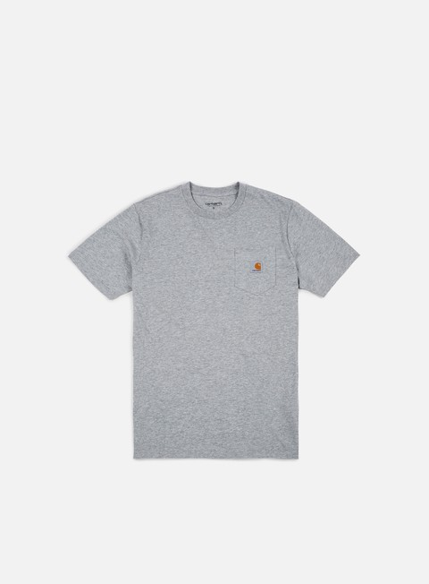 t shirt carhartt pocket t shirt grey heather