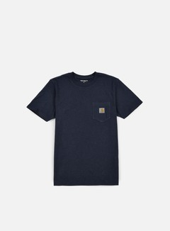 Carhartt - Pocket T-shirt, Navy Heather