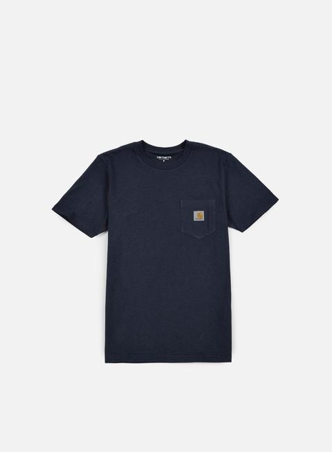 t shirt carhartt pocket t shirt navy heather