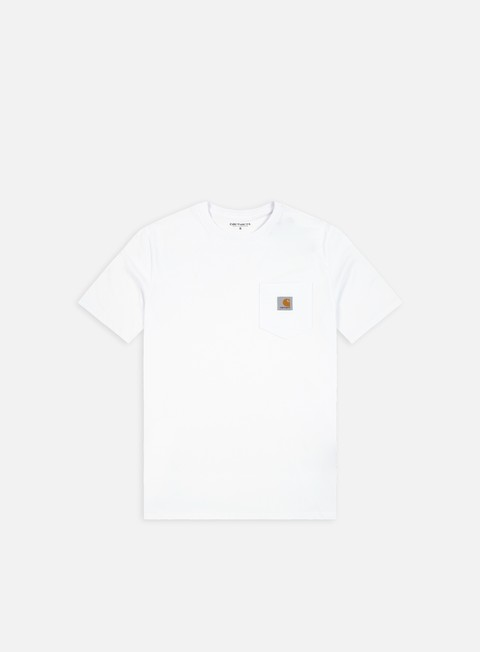 t shirt carhartt pocket t shirt white