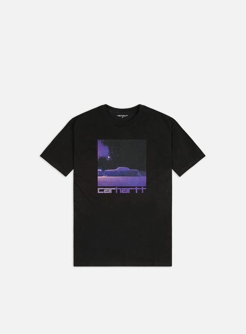 Short Sleeve T-shirts Carhartt Purple Car T-shirt