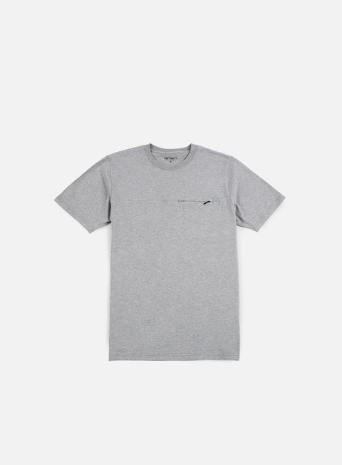 t shirt carhartt reflective pocket t shirt grey heather