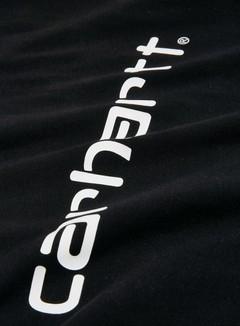 Carhartt - Script T-shirt, Black/White 2
