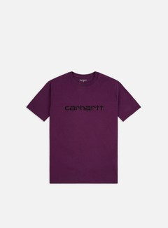 Carhartt - Script T-shirt, Boysenberry/Black