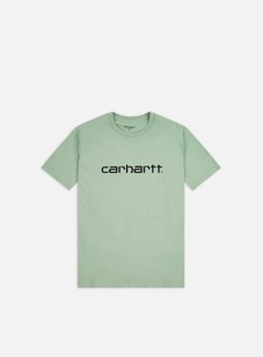 Carhartt - Script T-shirt, Frosted Green/Black