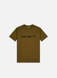 Carhartt - Script T-shirt, Hamilton Brown/Black