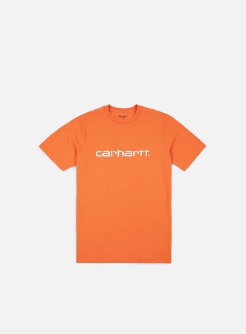 t shirt carhartt script t shirt jaffa white