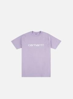 Carhartt - Script T-shirt, Soft Lavander/White