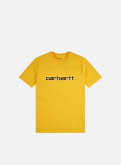 Carhartt - Script T-shirt, Sunflower/Black