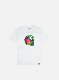 Carhartt - Sunset C T-shirt, White