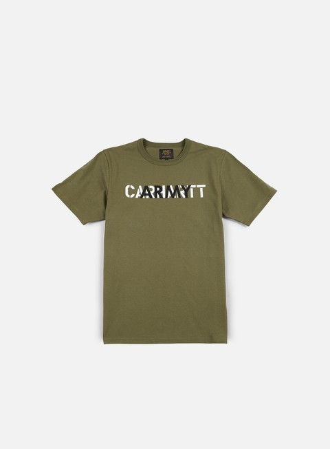 t shirt carhartt training t shirt rover green